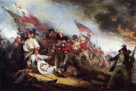 T-5. Trumbull, The Death of Geneeral Warren in the Battle of Bunker Hill (1786)
