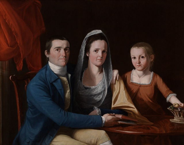 T-7. Trumbull, Jonathan Trumbull, Jr. and family (1777)