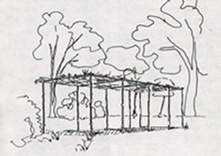The Smyrna Brush Arbor, dating from the mid-1830s, said to