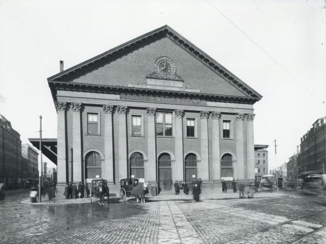 11. Bradlee, Boston & Albany Railroad Station, Haymarket Square