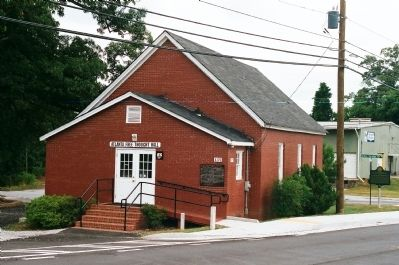 13.Collins Springs Primitive Baptist Church