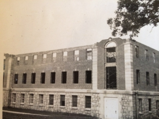 13. First Baptist 13. Church annex under construction
