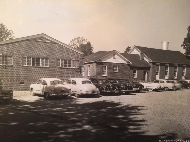 13. Presbyterian Church rear and annex, 1953