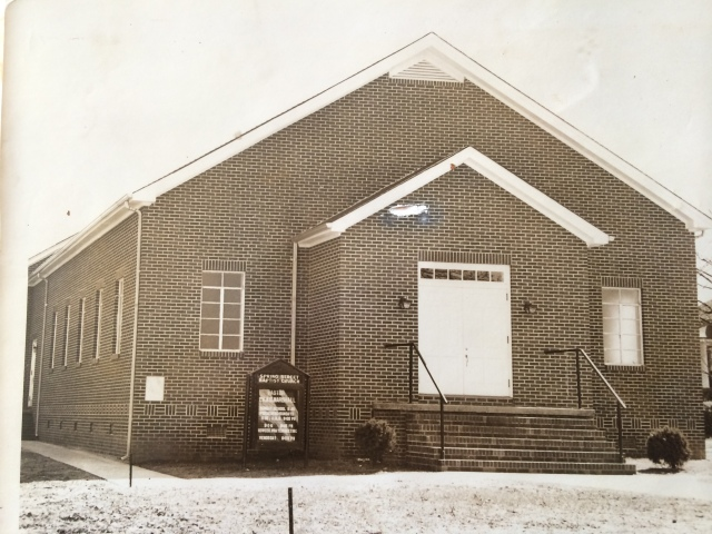 13. Spring Street Baptist Church, 1953