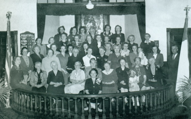 13. The First United Methodist Church Women's Club, 1945-46, in the 1911 Methodist Church