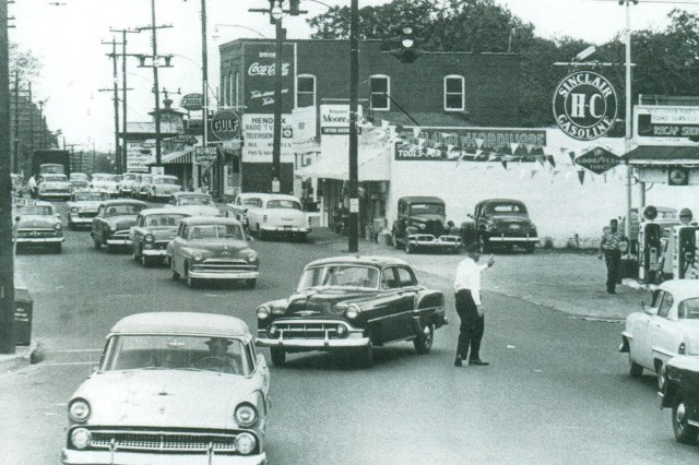 14.Downtown Smyrna, east side, as it appeared in the 1950s