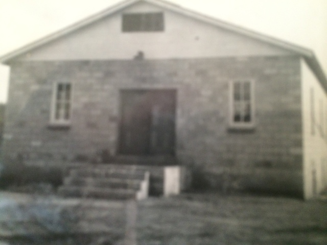 19. New Baptist Church, Davenport Town, 1953