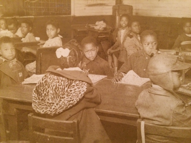 19. Old Negro School, Davenport Town (Interior)