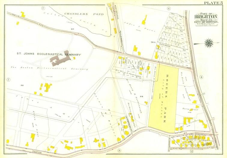 1909 Lake Street map