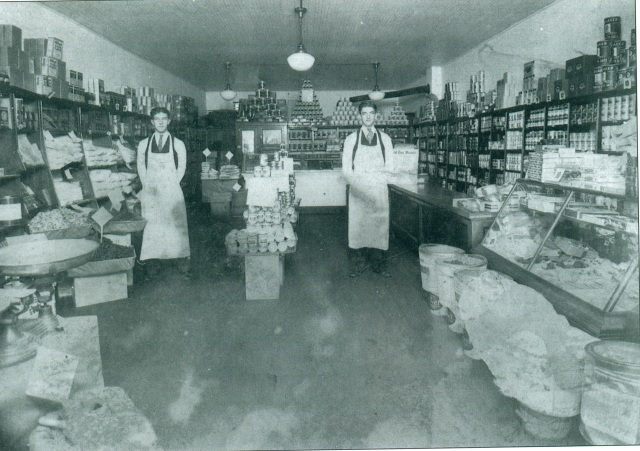 1ba. Rogers Grocery Store interior