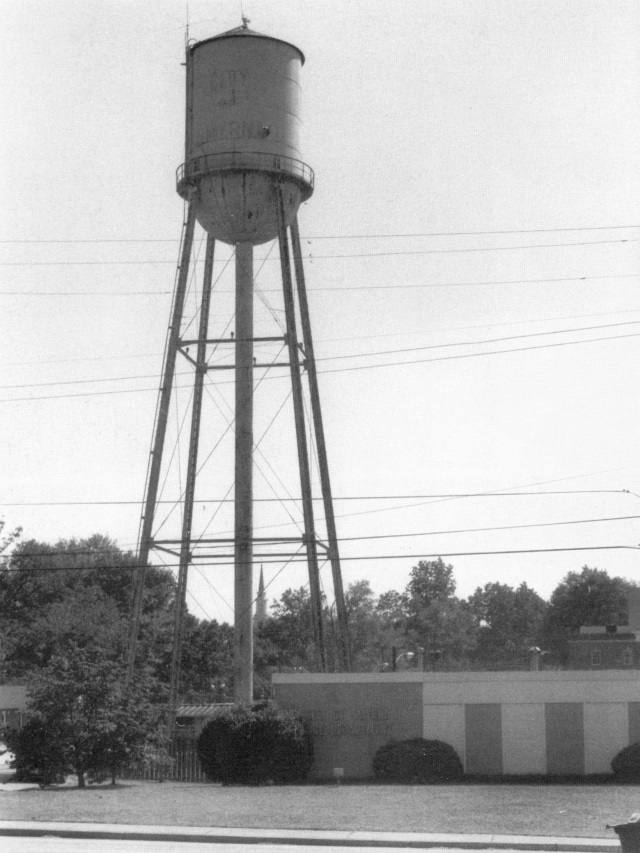 1hac.Smyrna Water Tower next to West Spring Street Fire Station