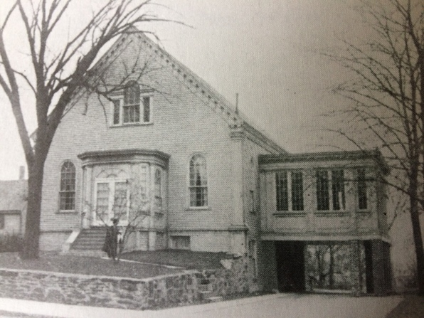 2. The remodeled Allston Universalist Church