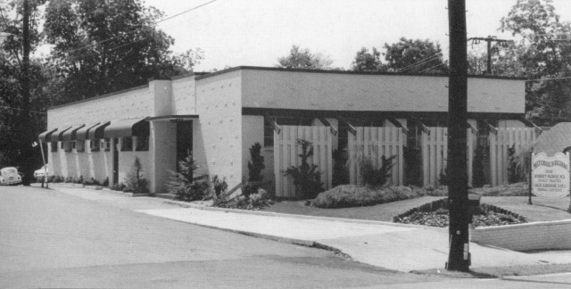 20. Dr. Mitchell's Building, built in 1948, north side of Sunset Avenue