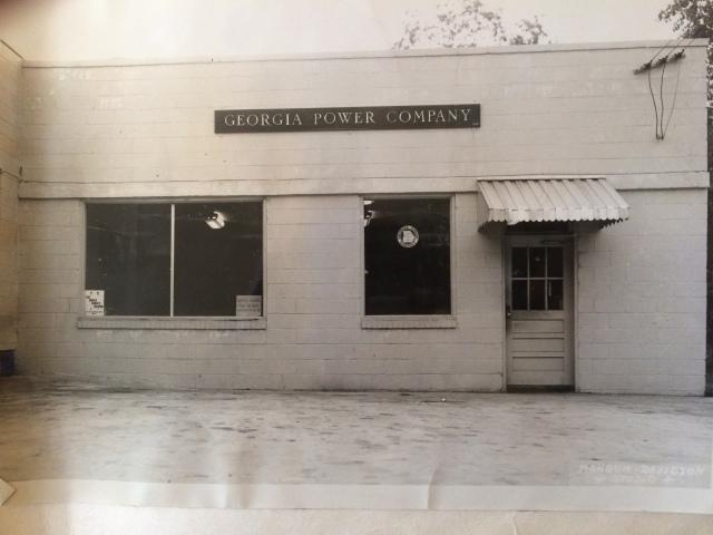 20. Georgia Power Store, North Atlanta Street, 1953