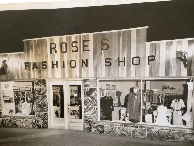 20. Rose's Fashion Shop, 103 Atlanta St., 1953