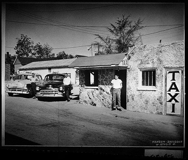 20. Taxi Service 1956