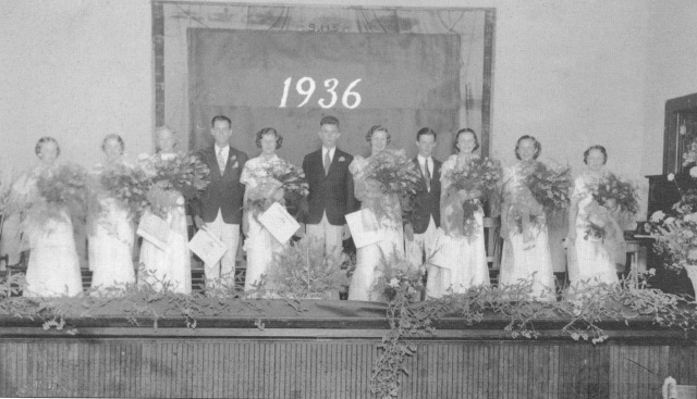 22.1936 graduating class Smyrna High Schooljpeg