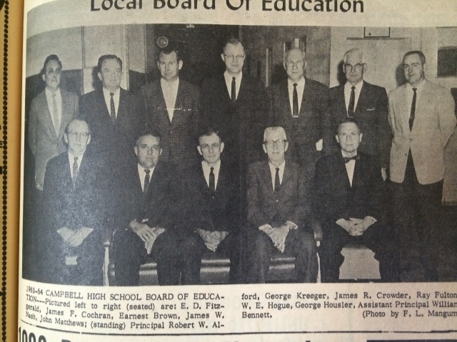 22. Campbell High School Board of Education, 1963
