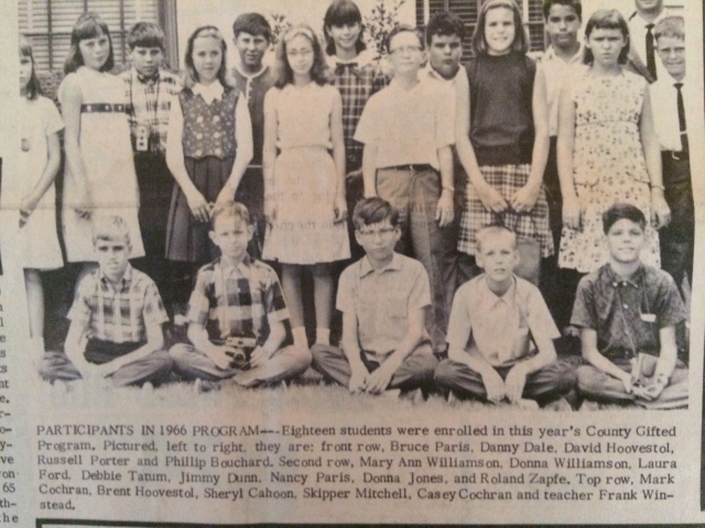 22. Gifted and Talented Program at Hawthorne School SH 8-11-66