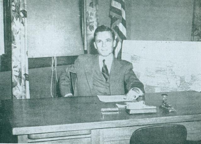 22. Jasper Griffin, Smyrna School Principal, 1949-50