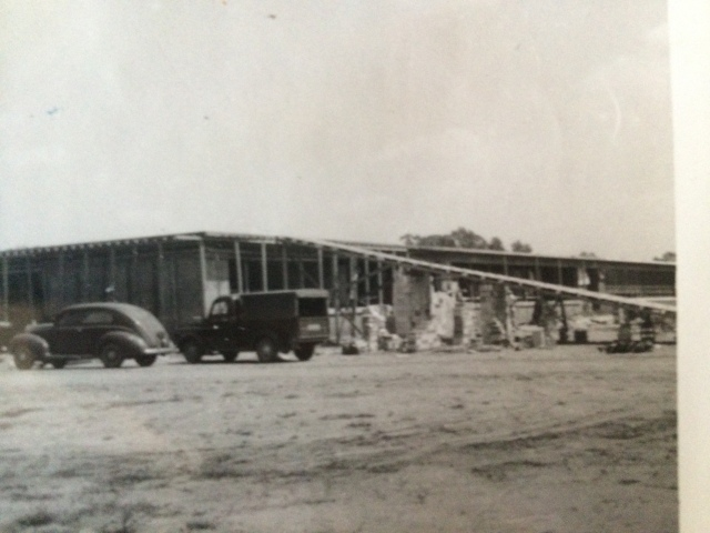 22. Orme-Campbell High School annex under construction, 1953