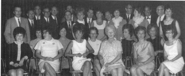 22. Smyrna High School's Class of 1951 (last class) reunion 1968