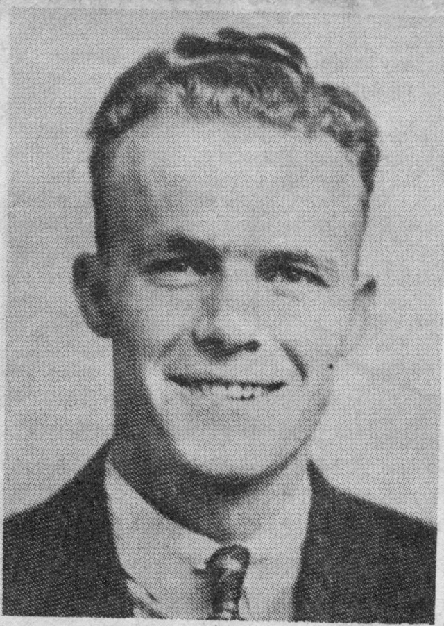 32. Arthur Bacon's High School Graduation picture, 1939