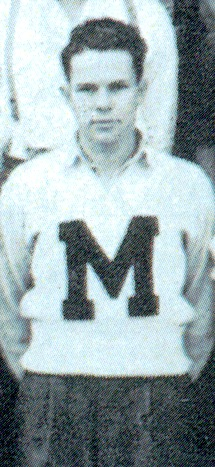 36. Max Parnell at Marietta High School 1939