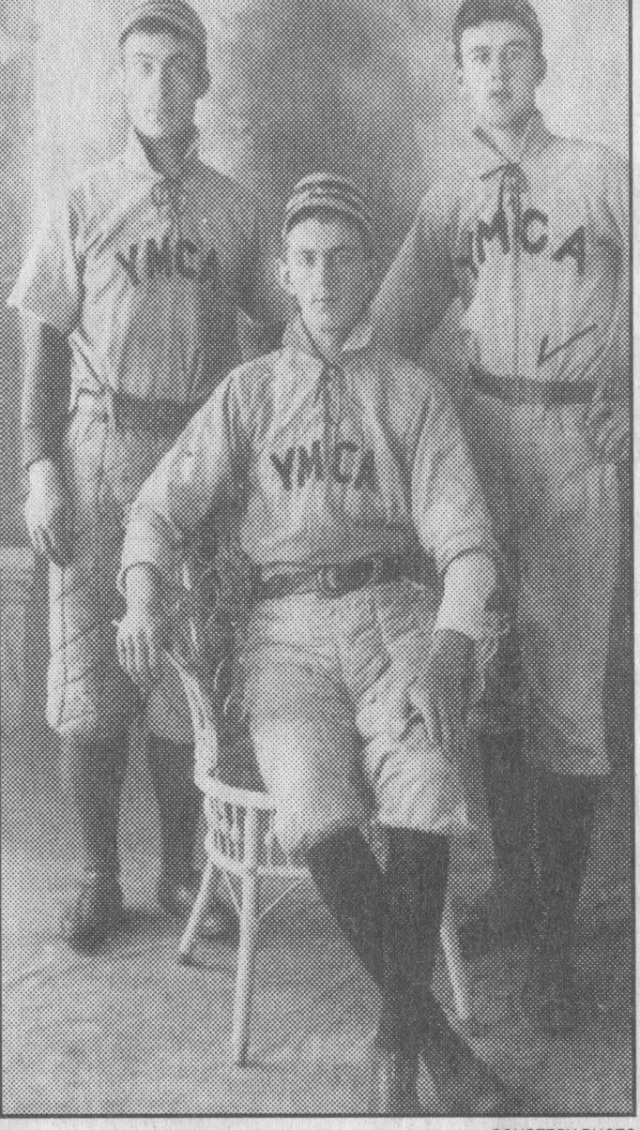 6. YMCA Baseball team about 1900