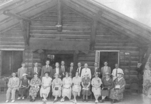 60. Log Cabin Church, 1919 building