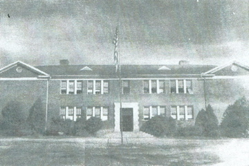 7. Smyrna Elementary School on King Street, constructed in the early 1920s