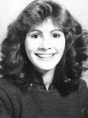 71. Julia Roberts as a high school student
