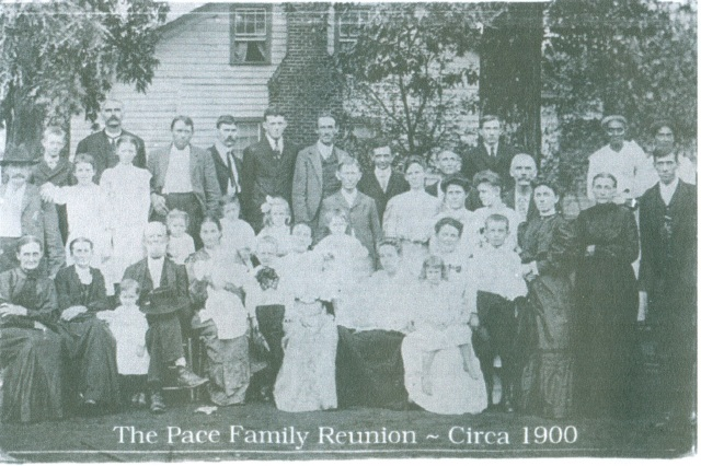 Pace Family Reunion, 1900