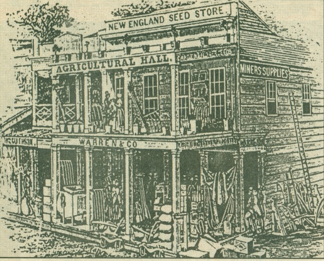 Warren & Co. store, Sacramento California