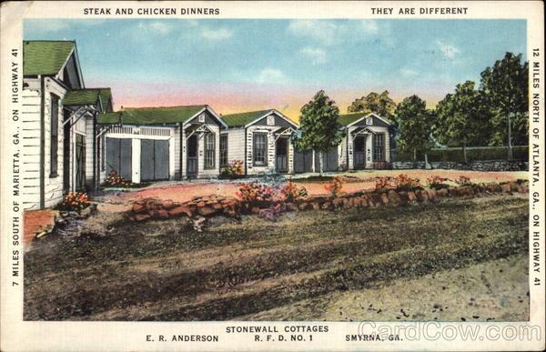 Stonewall Cottages Smyrna