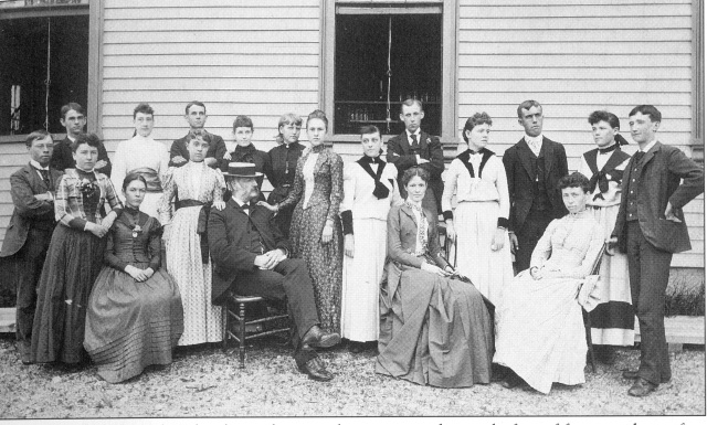 31. Brighton High School, class of 1889