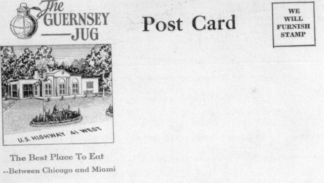 37. Guernsey JUg Restaurant envelooe