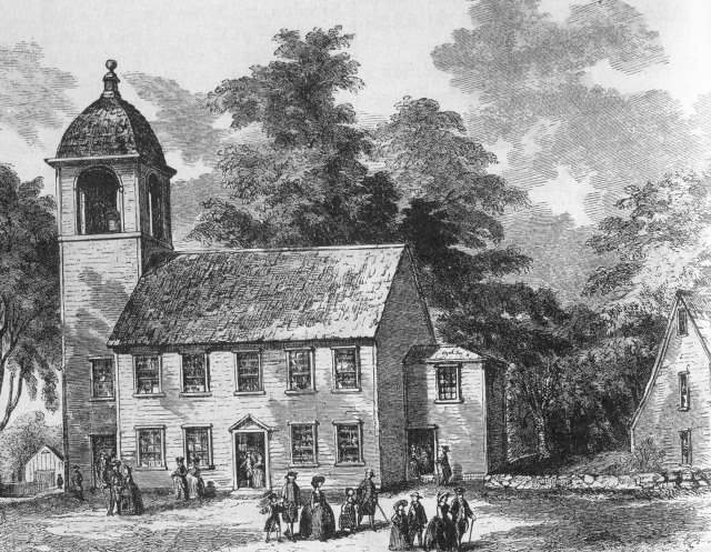 3a. Little Cambridge Meeting House, 1744