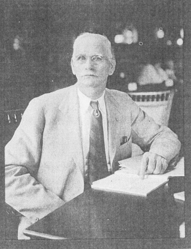 4. Dr. William T. Pace, local physician and mayor of Smyrna in 1912