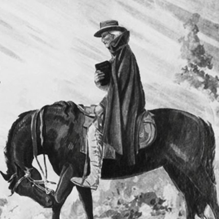 4.Itinerant Methodist Minister on horseback