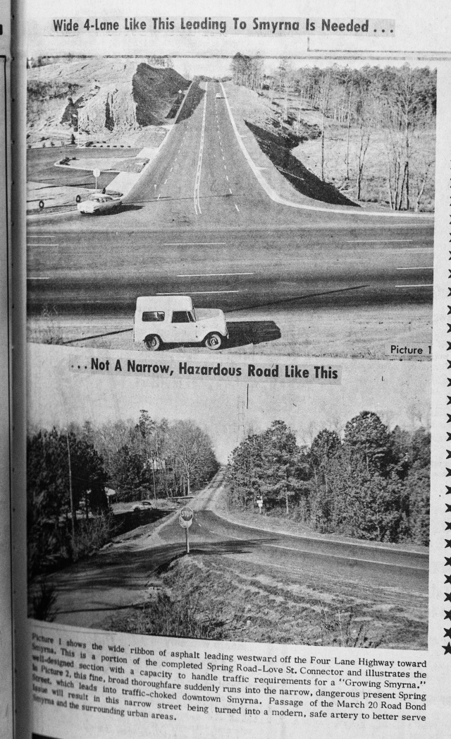 42.Spring Road before and after widening and overpass construction, (improved)