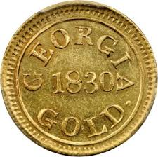 5. Georgia Gold Coinage