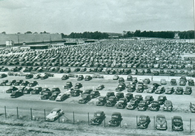 81. The main parking lot at Bell Bomber
