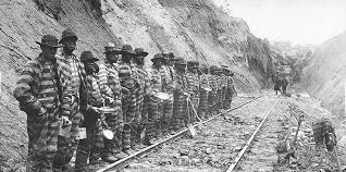 Convict labor on railroads