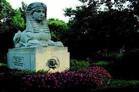 Milmore sphinx, Mt. Auburn Cemetery