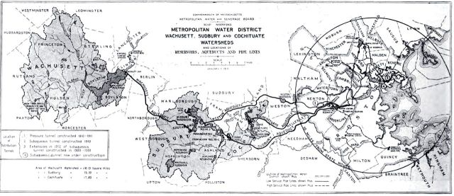 1. Metropolitan Water District map, 1910