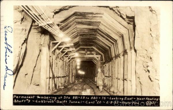 Coldbrook Swift Tunnel from Ware River to Wachusett Reservoir