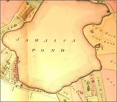 4. 1874 map of Jamaica Pond