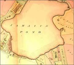 4. 1874 map of Jamaica Pond