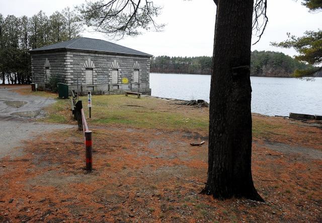 7. 1848 gatehouse at Lake Cochituate